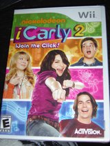 NEW Wii iCarly 2 game I Carly Nickelodeon in Fort Riley, Kansas