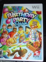 NEW Wii Birthday Party  Bash game rated E in Fort Riley, Kansas