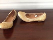 Women's Gold Flats - Size 7 in Lockport, Illinois