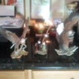 Home Interiors Porcelain Eagle Figurine Reduce in Leesville, Louisiana