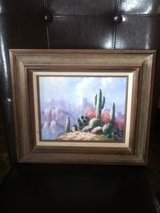 Creative Art Gallery Cactus Oil Painting Picture in Clarksville, Tennessee