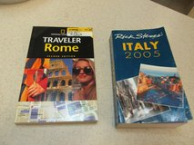 Two Travel Books Of Italy - Both For $1.00! in Houston, Texas