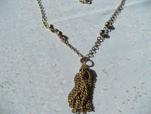 Vintage gold-toned Chain with Tassle in Kingwood, Texas