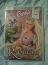 NIP Barbie Rapunzel dvd in Camp Lejeune, North Carolina